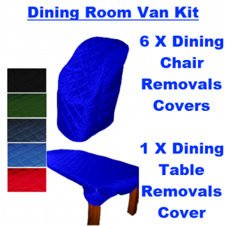Dining Room Van Removals Covers Kit